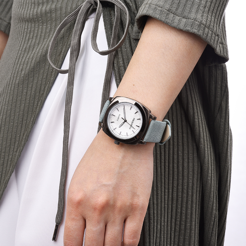 купить REBIRTH New design square women watches popular brand fashion casual ladies watch quartz clock grey wristwatches reloj mujer по цене 531.78 рублей