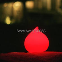цена Free shipping All Weather Remote control  Dew LED round water drop glowing Light Dew Waterproof colorful LED Indoor Outdoor Lamp онлайн в 2017 году
