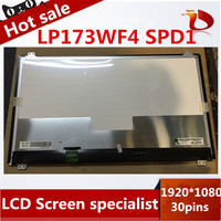 High quality A+LP173WF4 SPD1 LP173WF4(SP)(D1) IPS 1920*1080 30pin LCD LED PANEL LAPTOP SCREEN for Asus G751 laptop