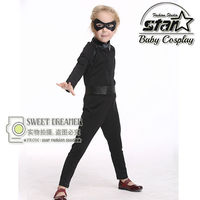 Fancy Children Kids Zorro Hero Costume Cosplay Clothing Halloween Kids Ninja Costumes Jumpsuit For Girl Party