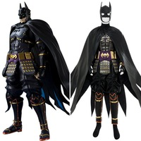 2018 Movie Batman Cosplay Ninja Batman Costume Adult Outfit Cape Full Suits Halloween Cosplay Costume Action Figure Version