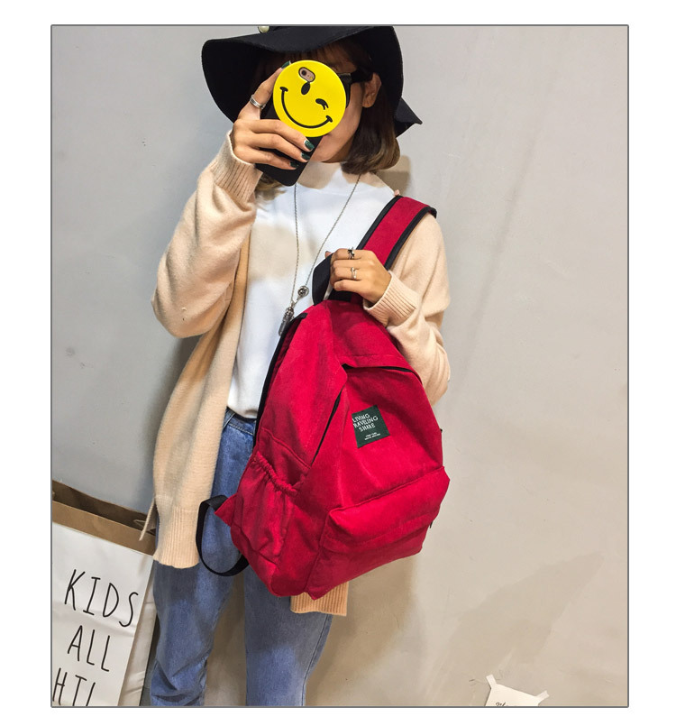 HTB1RZHwKb1YBuNjSszhq6AUsFXaQ Women Striped Corduroy Backpack Female Eco Simple Cloth Bag Large Capacity Vintage Travel Bags School Backpack for Teenage Girls
