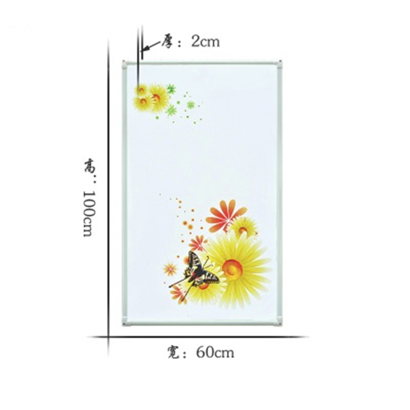 MYP5-14,5 PCS/lot,60*100cm,Free shipping,wall mount crystal,warm wall with picture,Infrared heater,carbon crystal heater