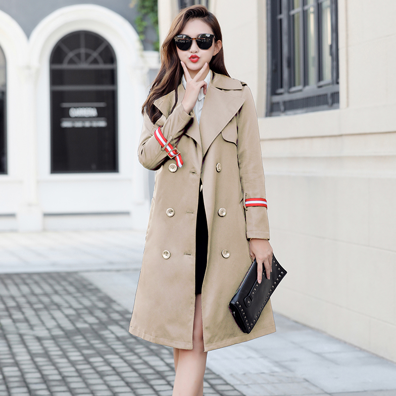 Plus Size 5XL 7XL Women   Trench   Coat Eam 2018 New Fashion Loose Long Coats Woman Clothes Casaco Feminino