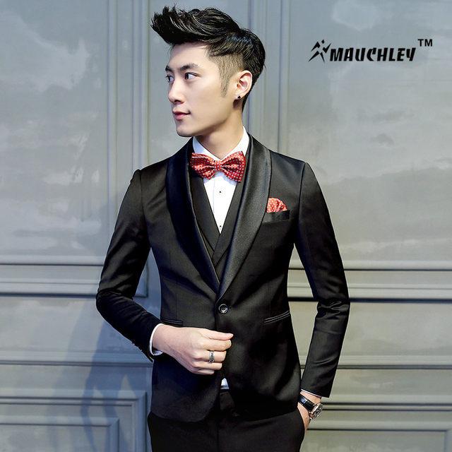 Online Shop 2018 Latest Coat Pant Designs Tuxedo Mens Prom Suits 2 ...