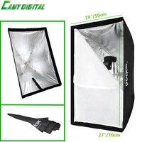 Umbrella Softbox Godox Convenient Rectangular Softbox 19 X27 50 70cm Umbrella Reflector High Quality For Speedlite
