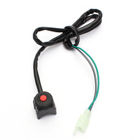 Universal Motorcycle Kill Stop Switch Horn Button for Motorcycle Pit Quad Bike 22mm 7/8 2