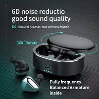PIZEN TWS i50 Wireless bluetooth Earphone Balanced Armature Auto pairing Sports Earbuds Gaming Headset for Mobile Phone i30 i20