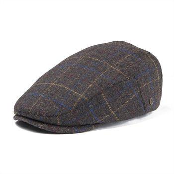 d45039cb VOBOOM Flat Cap Wool Tweed Ivy Caps Men Women Large Plaid Beret Hat Autumn  Winter Cabbie Driver Baker Hats 180