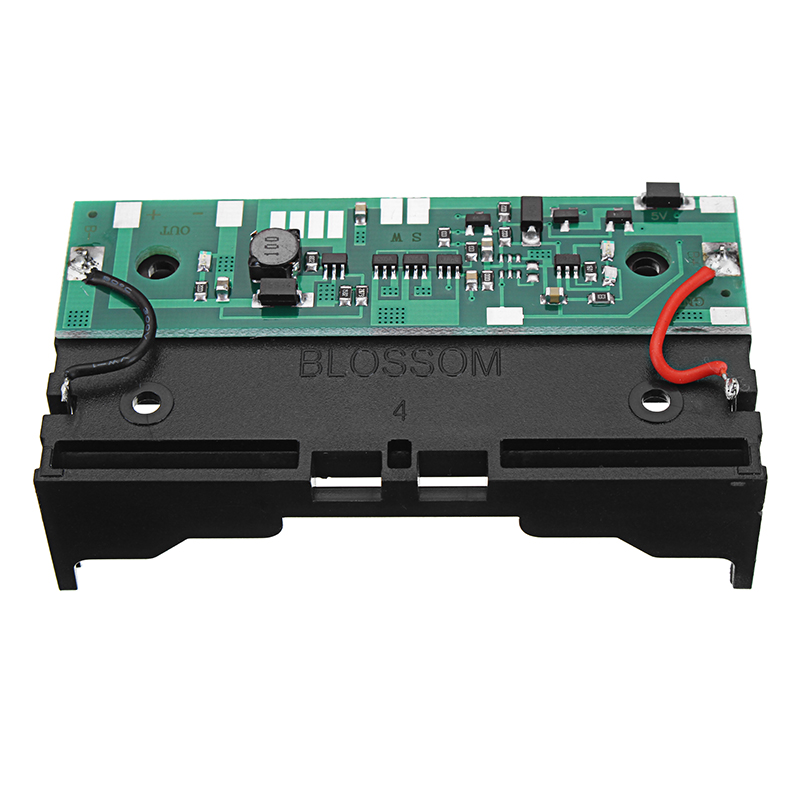 18650 Lithium Battery Boost Module 12V Charging Uninterrupted Protection Integrated Board