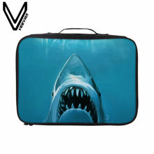 VEEVANV Fashion Men's Packing Organizers 3D Dinosaur Printing Storage Handbag Women Travel Bag Clothes Waterproof Travel Luggage(China)