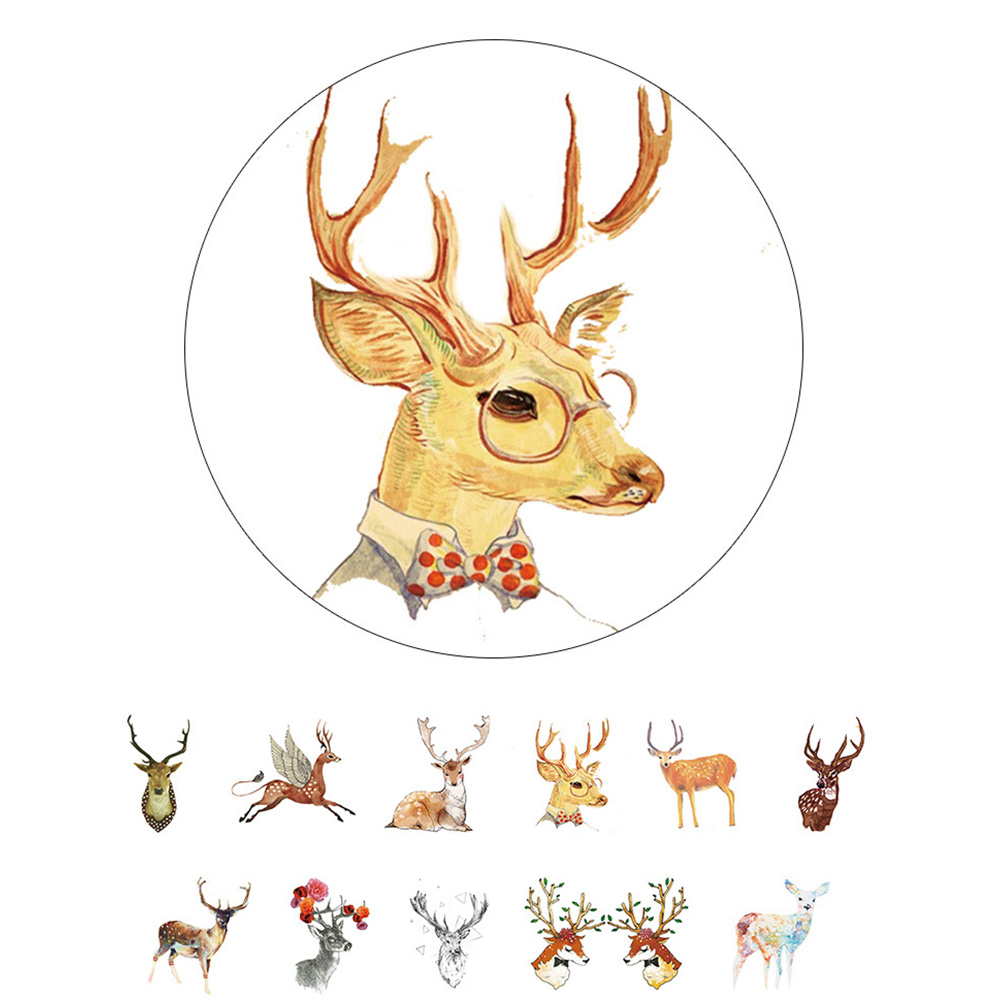 decorative office supplies. Deer Washi Tape 2.5cm*10m DIY Scrapbooking Tools Decorative School \u0026 Office Supplies Perfect As Christmas Gift-in Adhesive From F