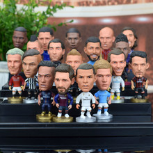 2018 Football Two Stars France Mbappe Puppets Messi Ronaldo Dybala Coutinho Soccer Ball Fans Little Figurine Futebol Goal Doll(China)