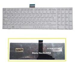SSEA nowy RU klawiatura do Toshiba z dostępem do kanałów satelitarnych C850 C855 C870 C875 L875 L850 L850D L855 L950 L955 rosyjska klawiatura biały