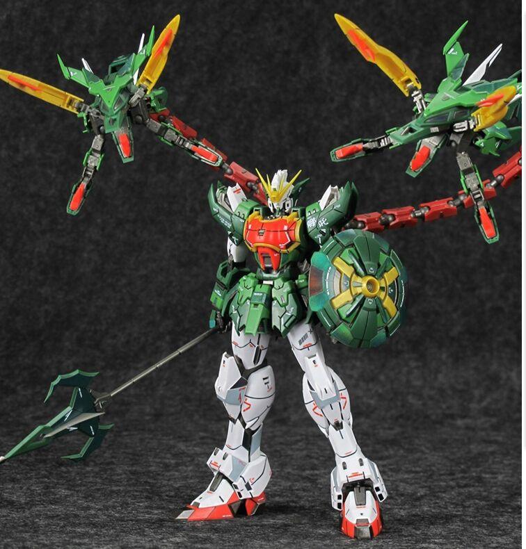 Super Nova XXXG-01S2 Altron Gundam model kit MG 1/100 action figure assembly toy