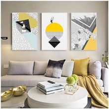 Geometry Abstract Nordic Poster Prints Minimalist Wall Art Canvas Painting Modern Pictures For Living Room Decoration