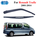 Oge 16 ''windshield braço limpador traseiro e lâminas para renault trafic mk 2, 2001-2014 Windscreen Car Auto Peças Acessórios RRN38-2A