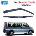 Oge 16 ''windshield limpialuneta brazo y cuchillas para renault trafic mk 2, 2001-2014 Accesorios Del Coche Piezas de Automóviles Parabrisas RRN38-2A