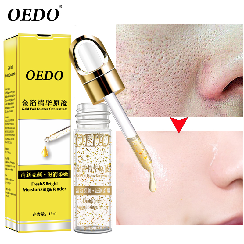 OEDO Face-Serum Anti-Wrinkle-Cream Skin-Care Whitening Hyaluronic-Acid Gold Liquid Shrink-Pores