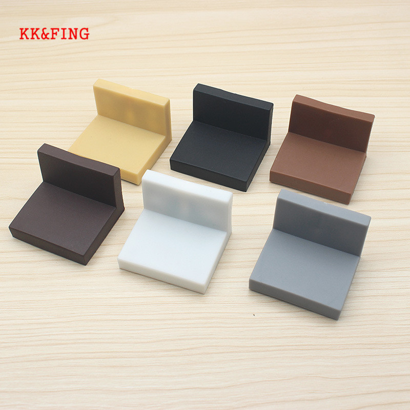 KK&FING Cabinet Hanging Code Cabinet Connection Corner With Decorative Cover Iron Corner Code Plastic Right Angle Hanging Code