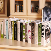 10PC book Omina fake simulation mode box bar furniture store