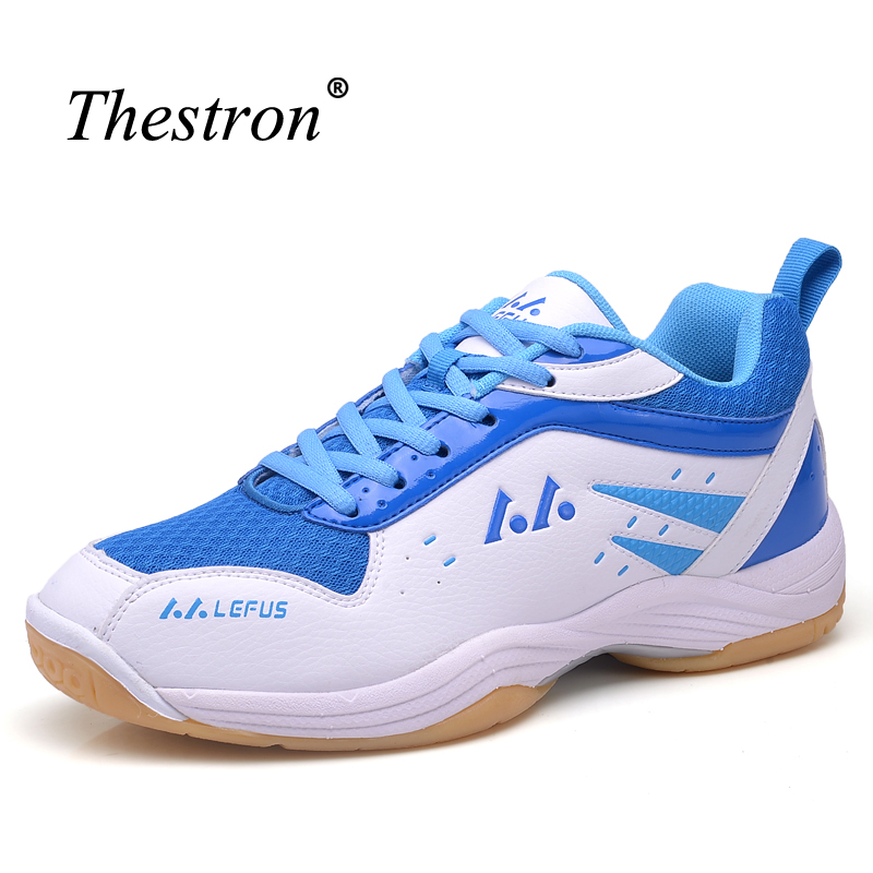Thestron Indoor Sports Shoes Men Anti-Slip Girls Sports Shoe Unisex Badminton Sneaker For Boys High Quality Badminton Sneakers