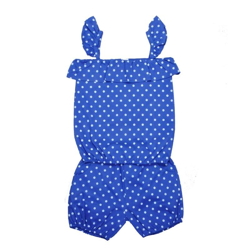 Moonlight 2017 Baby Girl Clothing Set Blue Polka Dot