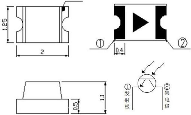 50pcs/lot light dependent resistor LDR smd 0805 photoresistor-in ...