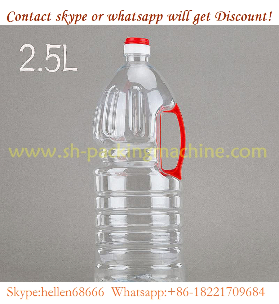 bottle automatic with machine,0.1-2.5L 5