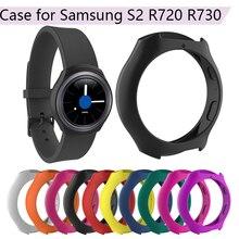 Универсальный силиконовый защитный чехол для смарт-часов для samsung Galaxy gear S2 SM-R720 SM-R730 сменная рамка для браслета