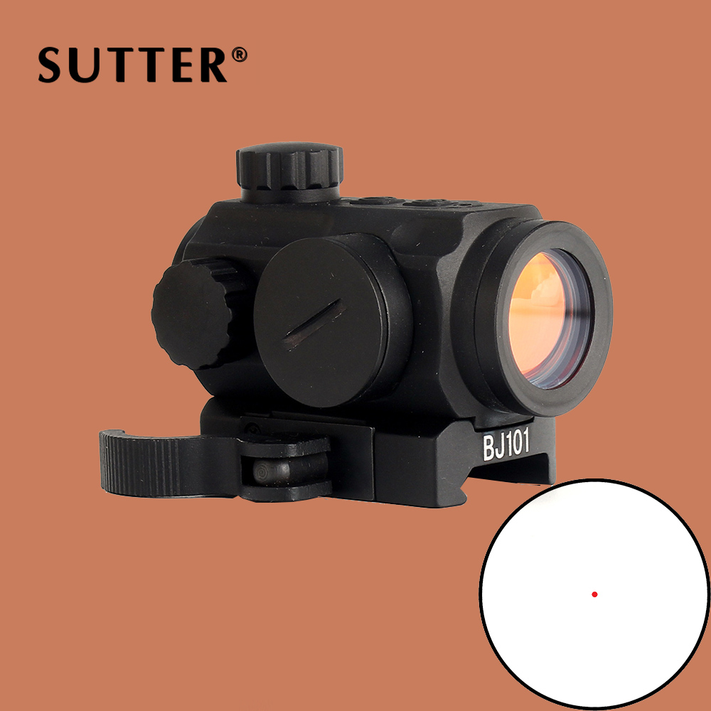 ohhunt Tactical Spec Reflex Sight 5 MOA Red Green Dot Reflex Scopes with Quick Release Picatinny Rail Mount for Hunting Rifle