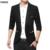 Nueva Llegada de la Marca de Ropa de Otoño Masculina Chaqueta De Moda Masculina Traje Slim Fit Hombres Traje Chaqueta de Color Sólido Ocasional Masculina
