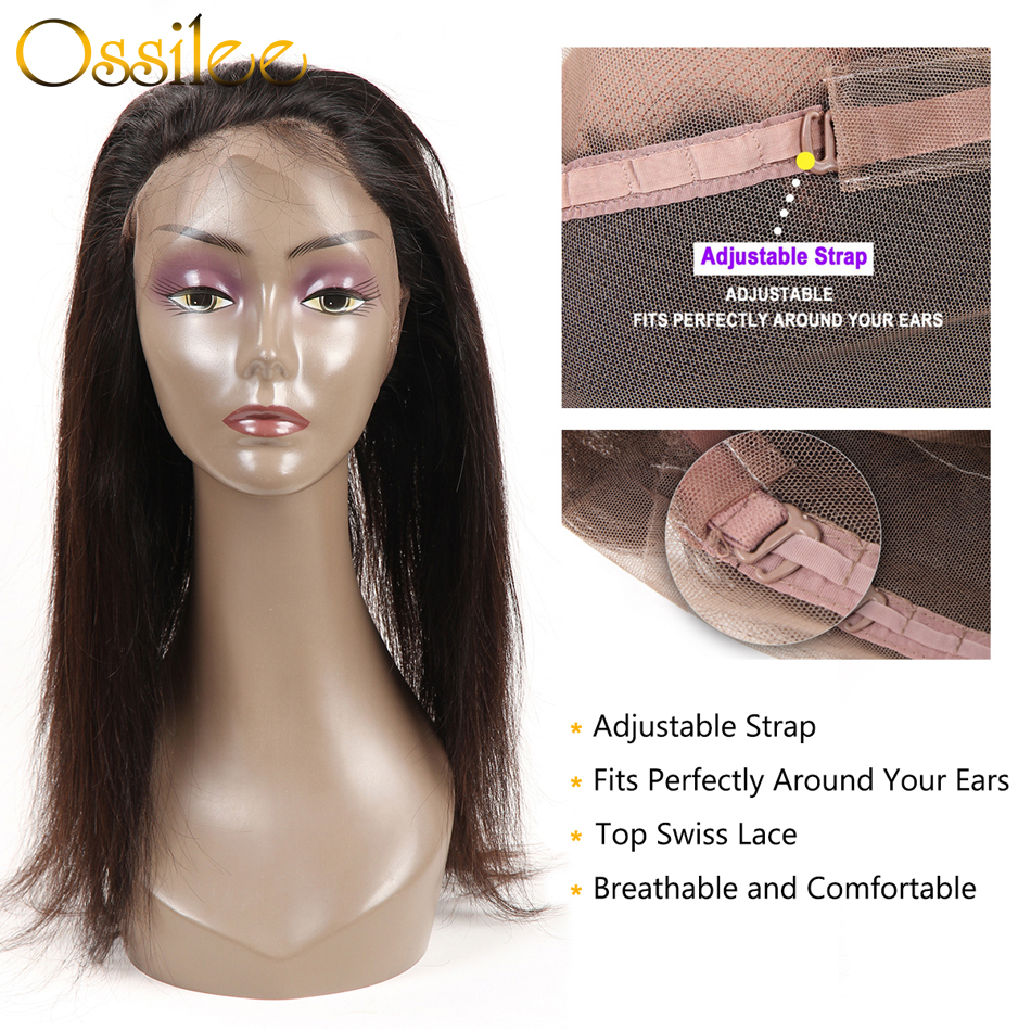 3/4 Bundles With Closure Ossilee 360 Lace Frontal With Bundle Body Wave Bundles With Frontal Malaysian Hair Bundles With Closure Noremy Hair Lace Frontal