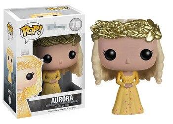 Original Funko POP Griechische Die schlaf zauber Aurora Prinzessin Vinyl Figur Wackelkopf Sammeln Modell Spielzeug mit Original Box