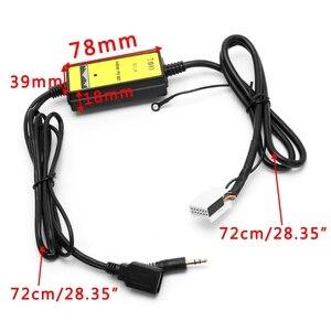 Image 5 - Auto Radio Lettore USB Aux in Adattatore CD MP3 Interfaccia 12 Spille Per V W Audi Skoda Sede