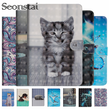 Stand PU Leather Case For Samsung Galaxy Tab A A6 10.1 T580 T585 T580N SM-T580 Cover Cases Funda Tablet Magnetic Folding Capa cowboy pattern case for samsung galaxy tab a a6 10 1 2016 t580 t585 sm t580 t580n case cover funda tablet stand protective shell