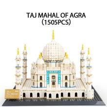 1505pcs Building Block Toys Compatible Legoingly Friends Series Taj Mahal Building Model Figures Bricks Birthday Gifts Kids