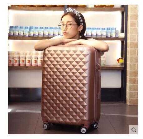 Travel Luggage Suitcase Rolling Luggage Case Women Trolley Suitcase 20 Inch 22 Inch 24 Inch 26 Inch Suitcase Boarding Wheel Case
