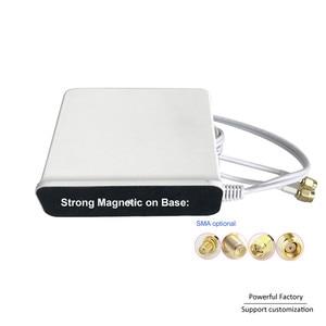 Image 4 - 698 2700 Mhz Omni kapalı Manyetik Baz lte wifi Beyaz 2x2 Mimo Anten 4G