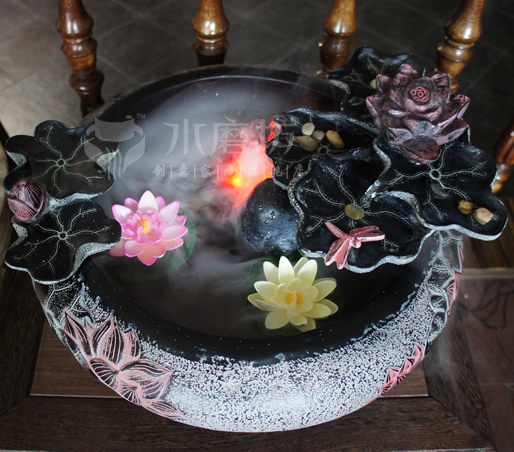 Resin Garden Ornaments Home Decorations Living Room Feng Shui Water  Fountain Water Features Crafts Decorations Wedding