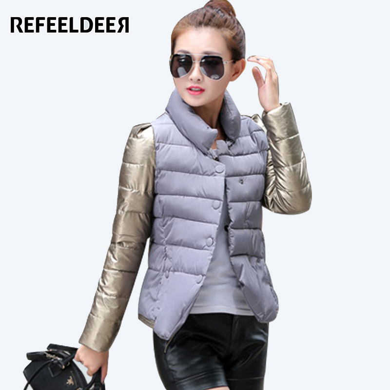 Womens Winter Jackets And Coats 2017 Single Breasted Cotton Padded Parkas For Women's Winter Jacket Female manteau femme womens winter jackets and coats 2016 thick warm hooded down cotton padded parkas for women s winter jacket female manteau femme