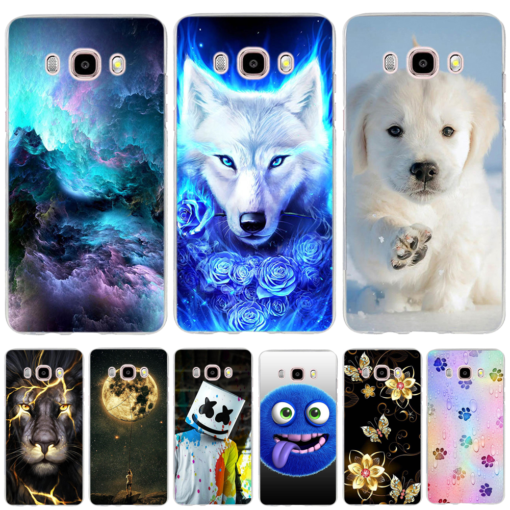 dde2c11b082 For funda Samsung Galaxy J7 2016 Case Cover for Samsung J7 2016 Case  Silicone Flower 3D TPU Case for Samsung Galaxy J7 2016 Capa