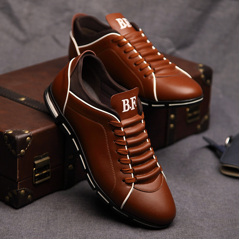 England trend casual leisure leather shoes 10
