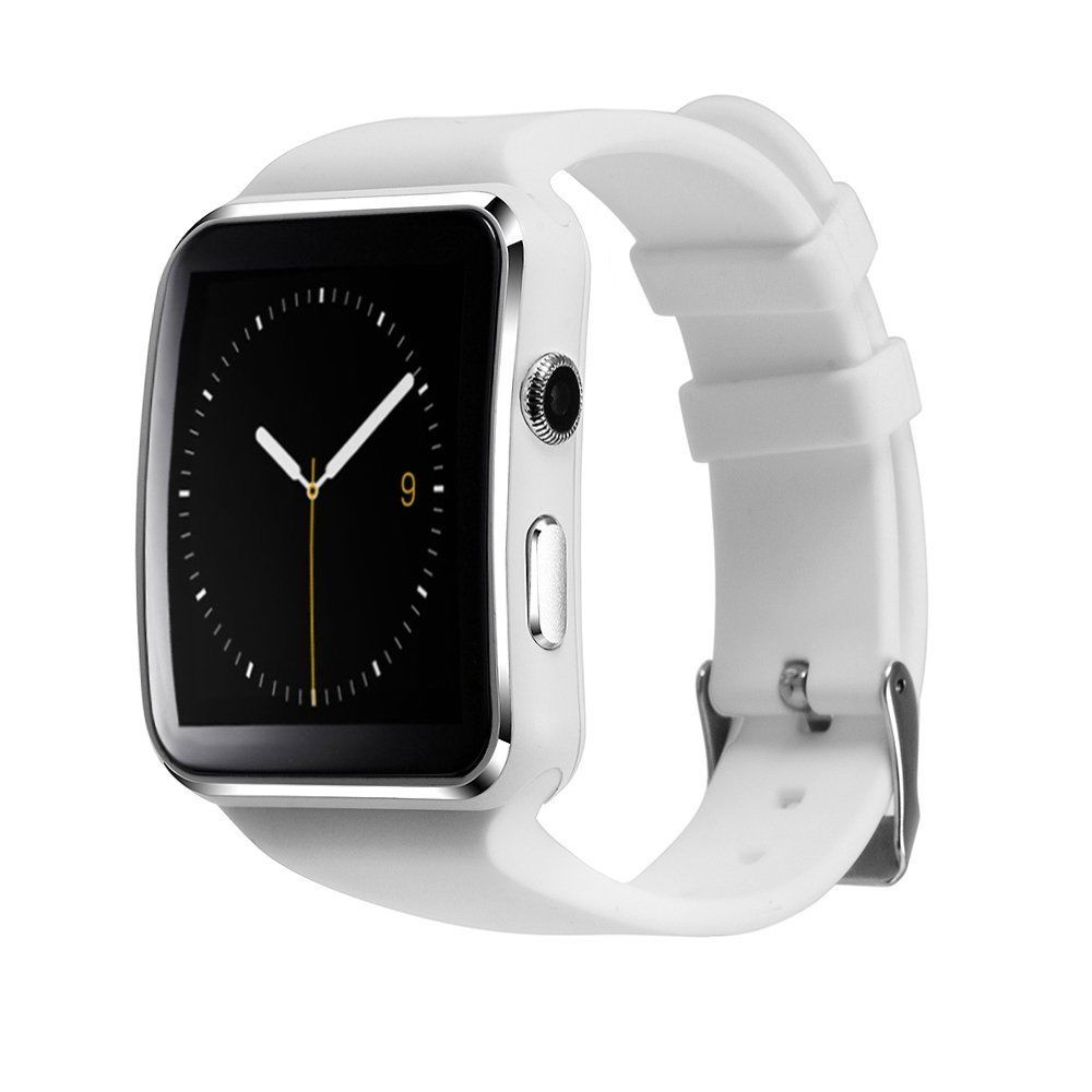 X6 Intelligent Relojes Smartwatch Bluetooth Smart Watch Android Relogios invictas Phone SIM App for Apple iPhone Xiaomi Huawei
