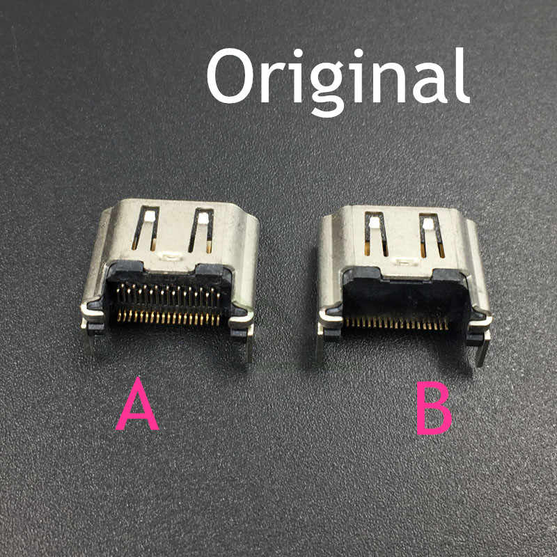 Detail Feedback Questions about Original HDMI Port Socket Interface