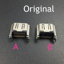 10 pièces connecteur dinterface de prise de Port HDMI dorigine remplacement pour Station de jeu 4 PS4 prise HDMI