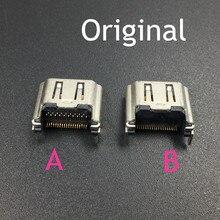 10PCS ซ็อกเก็ตพอร์ต HDMI ต้นฉบับเชื่อมต่อสำหรับ Play Station 4 PS4 HDMI แจ็ค