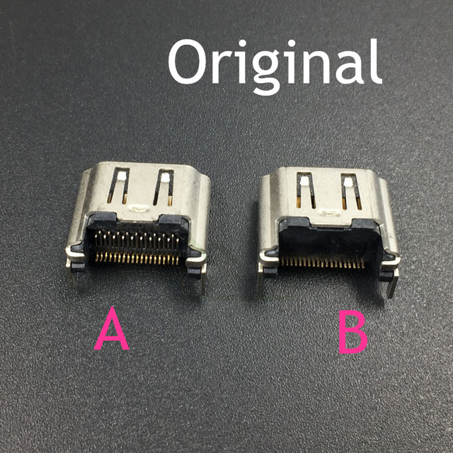 10PCS Original HDMI Port Socket Interface Connector replacement for Play Station 4 PS4 HDMI Jack