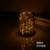 LEVOU Luz Mesa de Vidro Romântico Estrela De Madeira Industrial Sótão Do Vintage Lâmpada de Mesa Cafe Bar Natal Presente de Aniversário Luz Da Noite