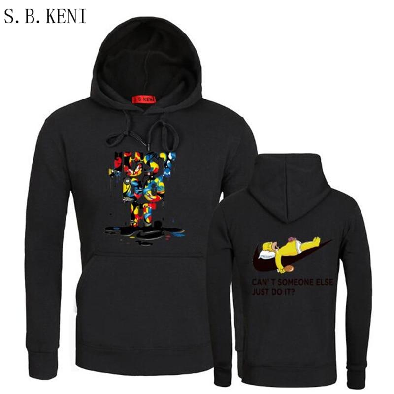 Just do it trasher hoodies poleron hombre fashion skateboard Streetwear sweatshirt polerones mujer men women hoodie fortnite